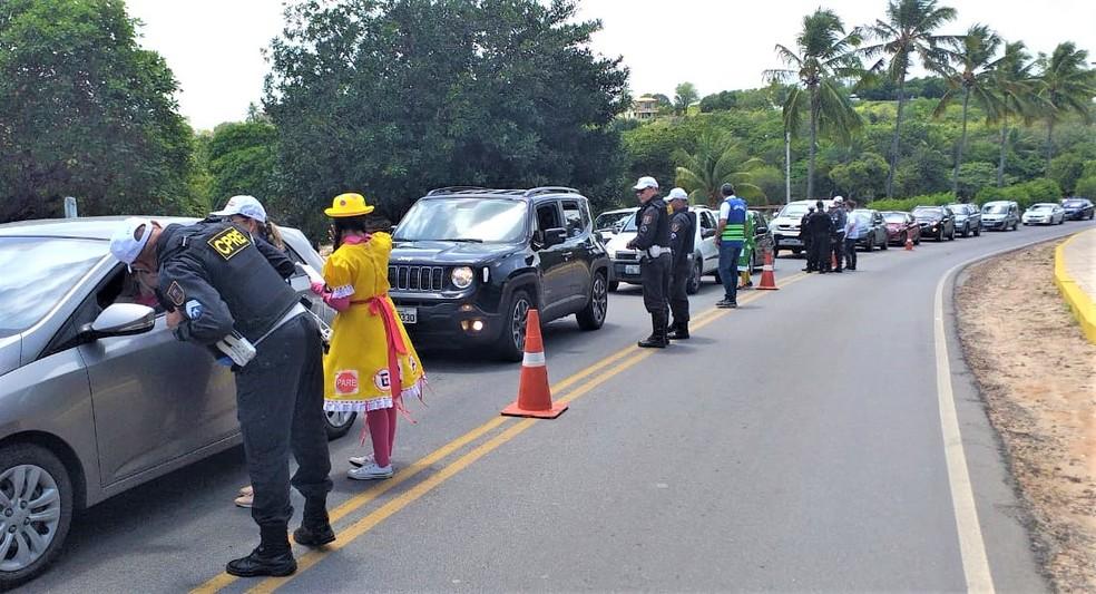 Condutores podem ter desconto de 40% em multas no RN — Foto: Detran/Divulgação