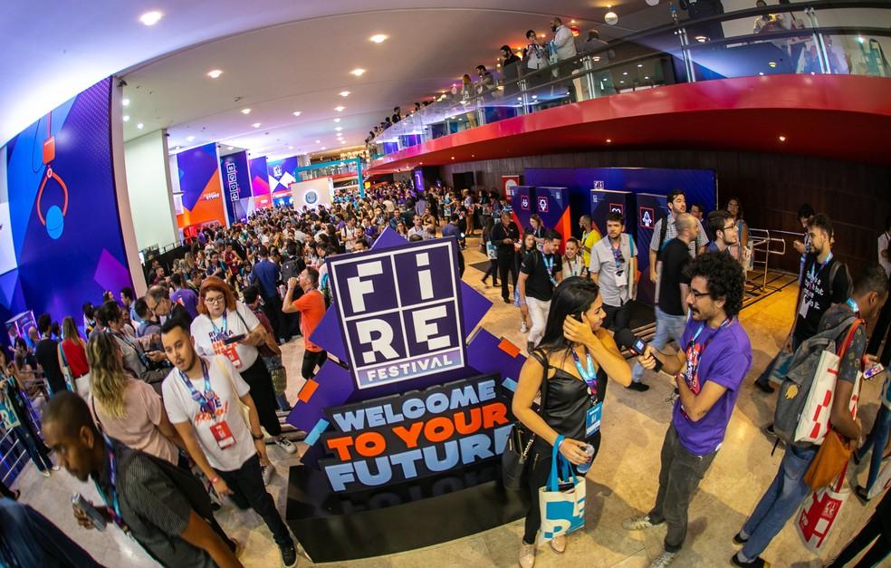 Fire Festival reúne autoridades e interessados no empreendedorismo digital em BH — Foto: Hotmart/Divulgação/Bruno Soares