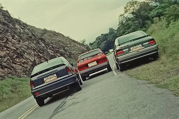 Comparativo de 1993: Escort XR3, Kadett GSI e Gol GTI