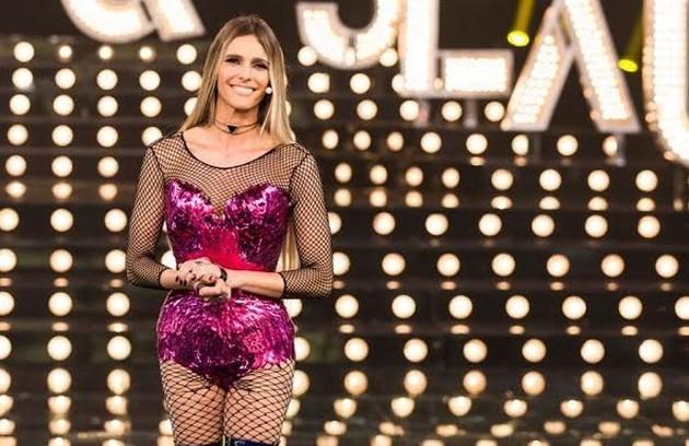 A roupa usada no episódio sobre o empoderamento feminino foi feita em formato de escamas: 'A gente buscou ressignificar xingamentos tão comuns à mulher, como piranha' (Foto: Estevam Avellar/Globo)