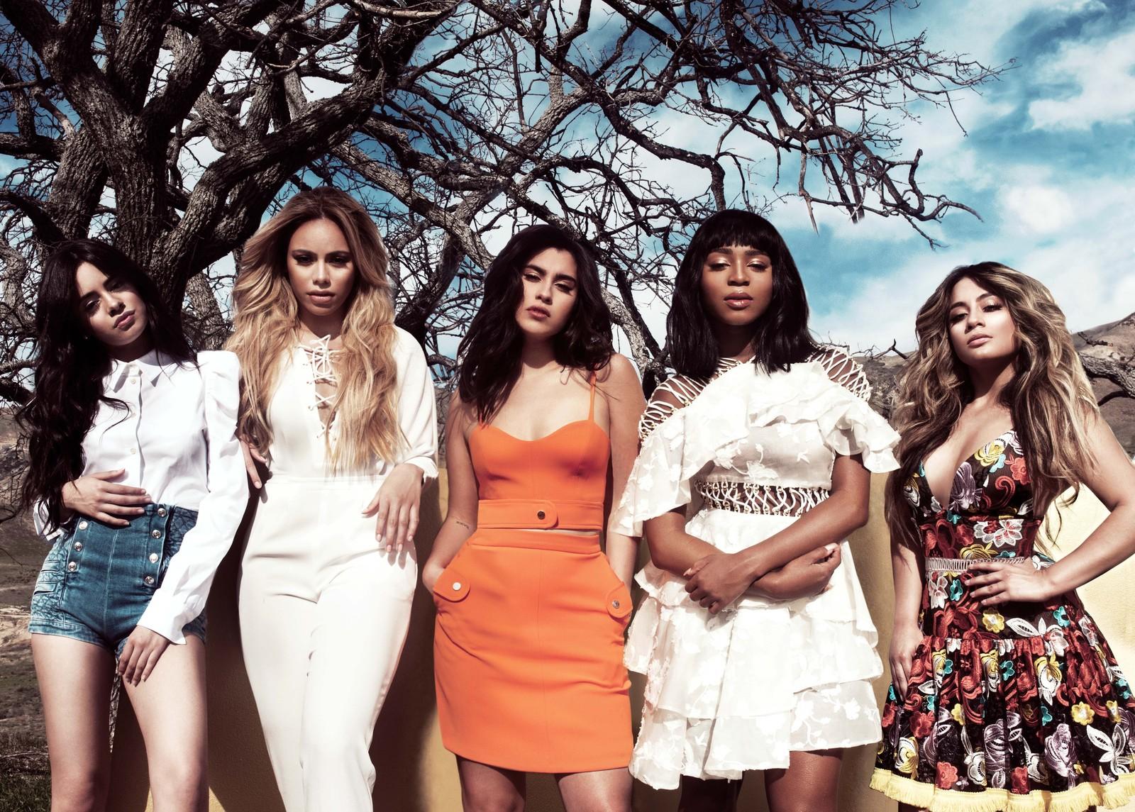 Fifth Harmony: com Camila Cabello, Dinah Jane, Lauren Jauregui, Normani e Ally Brooke — Foto: Divulgação