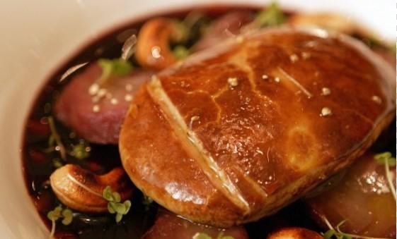 Escalpe de foie gras