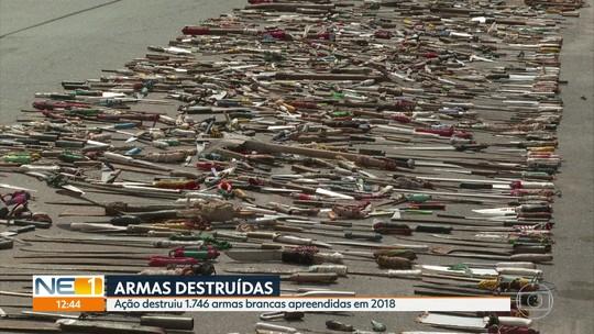 Polícia prende cinco pessoas e apreende armas em ação contra tráfico no Litoral Sul de Pernambuco