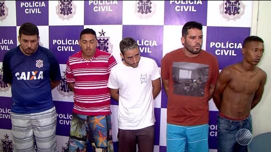 Seis dos 11 conduzidos à delegacia em operação contra o tráfico são presos novamente no sul da Bahia