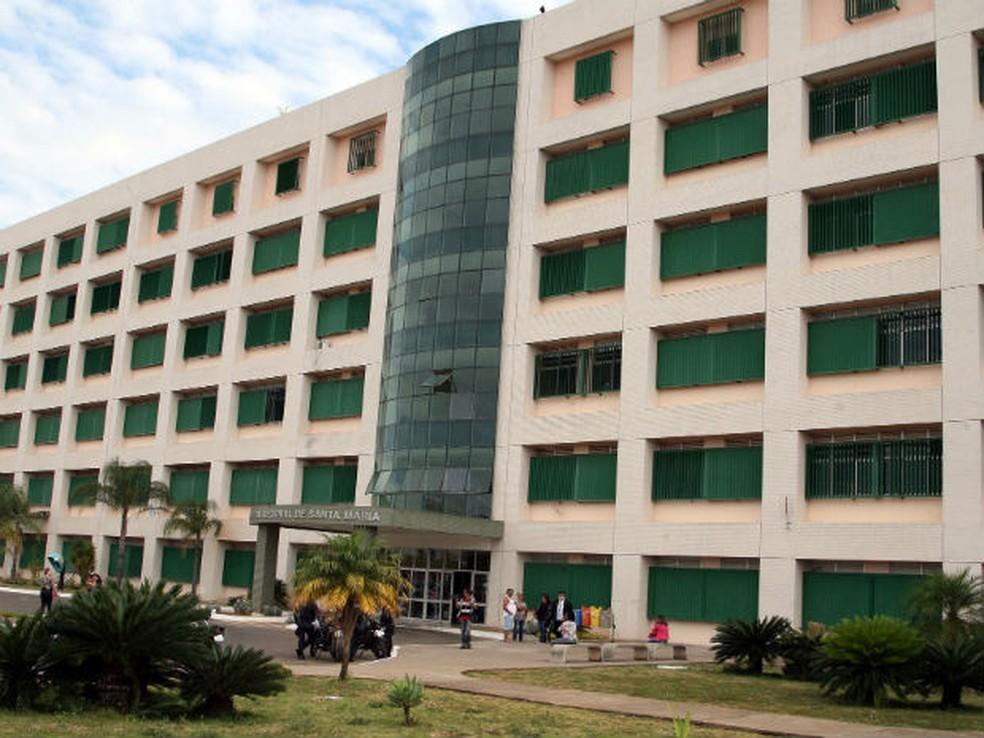Fachada do Hospital de Santa Maria — Foto: Toninho Tavares/Agência Brasília