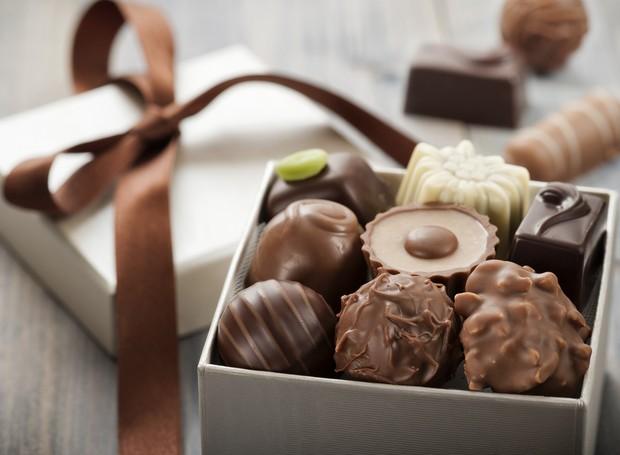 Chocolates fazem bem (Foto: Thinkstock)