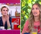 Ana Maria Braga entrevista a eliminada Carla Diaz | Reprodução