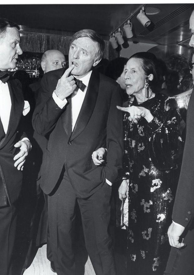 William F. Buckley Jr. e Diana Vreeland (Foto: Bill Cunningham)