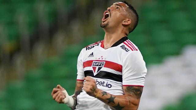 Luciano lamenta derrota do São Paulo para o Fluminense