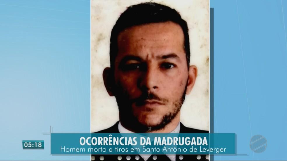 Wagner dos Santos Oliveira (Foto: TV Centro América)
