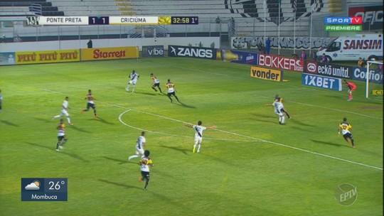 Sem camisa 10, volantes da Ponte se reinventam e ganham pontos com gols