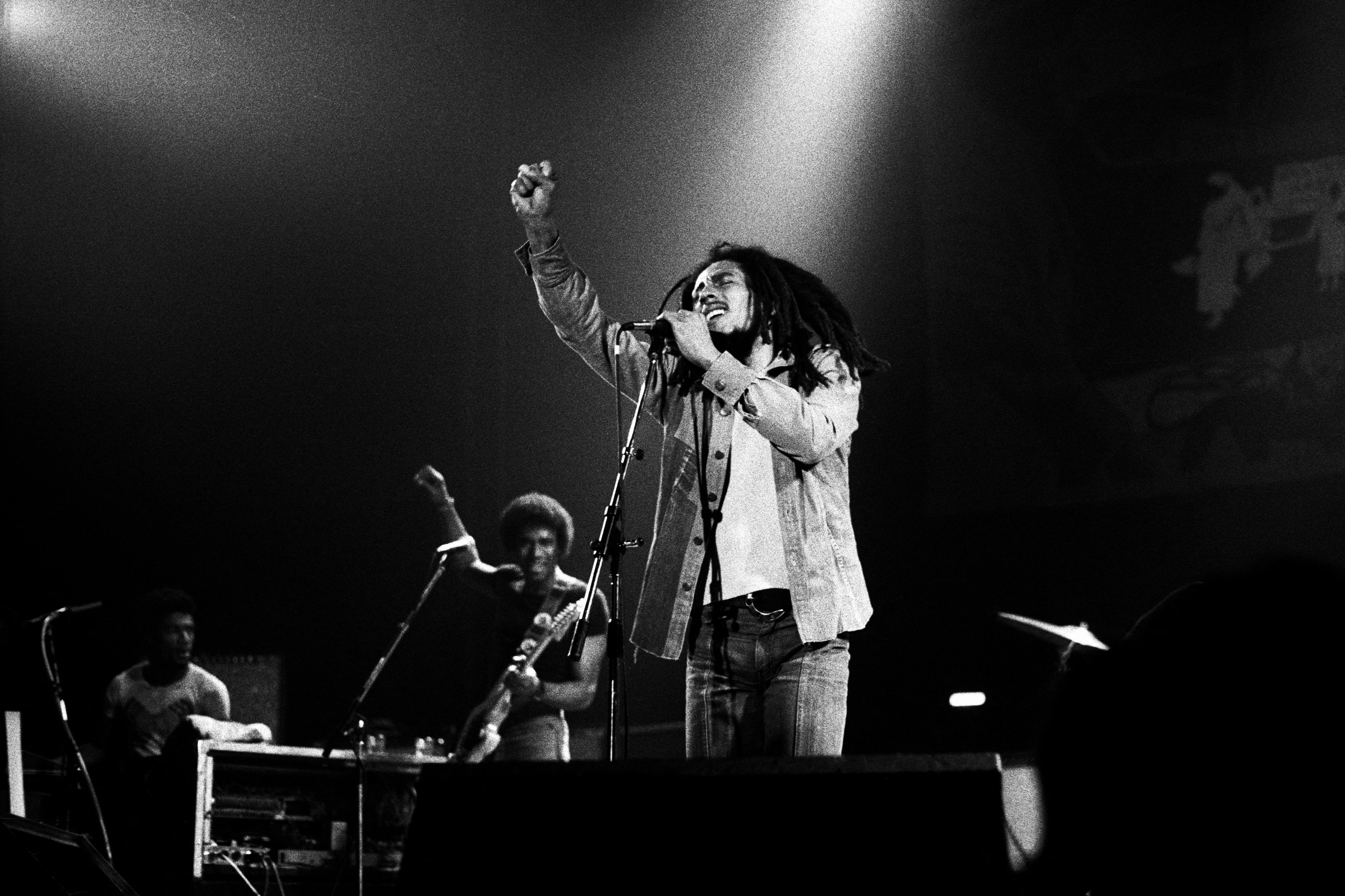 Bob Marley: 40 anos sem astro do reggae; FOTOS