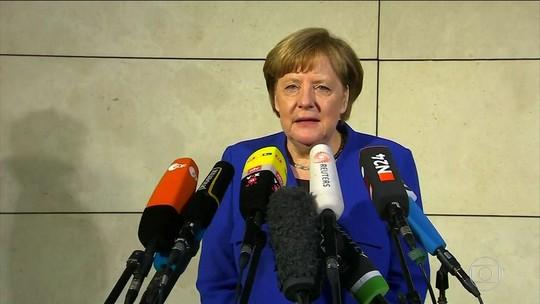 Merkel consegue pré-acordo que pode garantir a formação de governo de coalizão