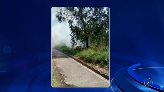 Bombeiros combatem dez focos de incêndio na região de Itapetininga em menos de 24 horas
