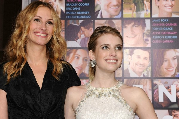 Julia Roberts e Emma Roberts (Foto: Getty Images)