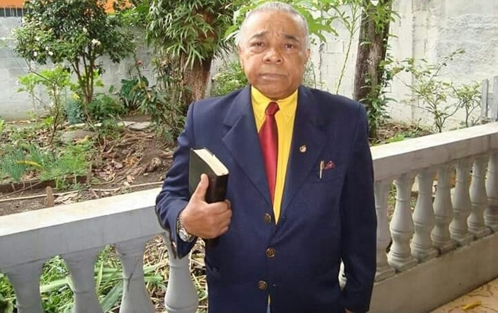 Marronzinho, candidato à Presidência em 1989 pelo extinto PSP, em foto recente — Foto: José Alcides Marronzinho/Arquivo pessoal