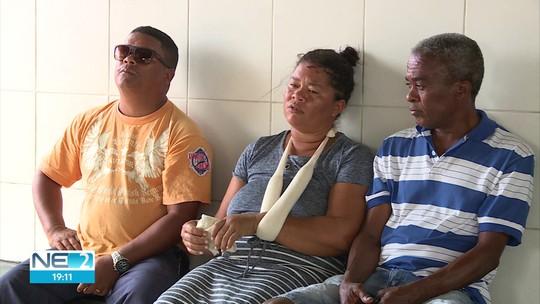 Parentes de vítimas de acidente entre ônibus e caminhão na BR-232 lamentam perda