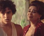 Matheus Abreu e Juliana Paes em 'Dois irmãos' | Reprodução