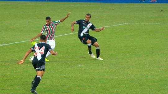 """""""Construa seu estádio e escolha o lado"""", diz Andrey sobre polêmica entre Vasco e Fluminense"""