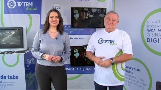 TV TEM tira dúvidas sobre o sinal digital na região de Itapetininga