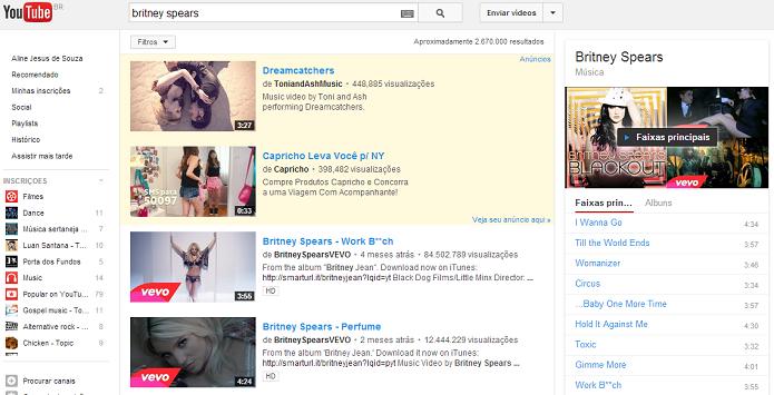 YouTube ganhou novo recurso (Foto: Reprodução/Thiago Barros)