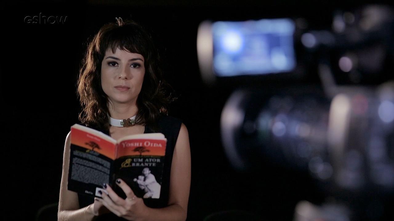 Andreia Horta fala sobre a sua trajetória e da profissão de atriz