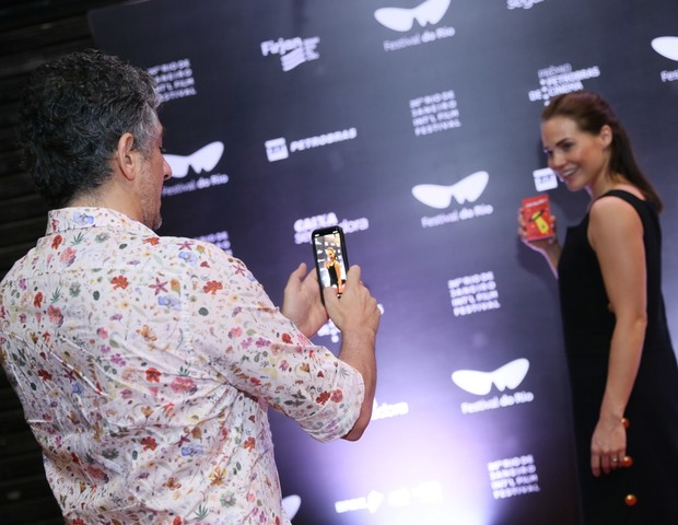 Michel Melamed e Leticia Colim  ( fotos Anderson Borde / AgNews ) (Foto: Anderson Borde/AgNews)