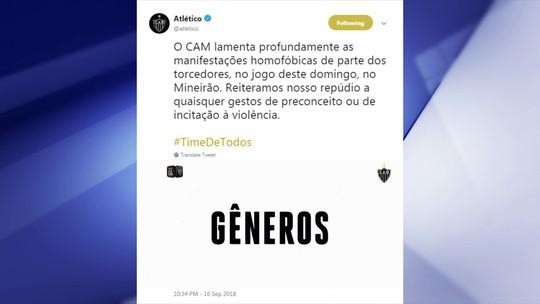 """Redação condena gritos homofóbicos, e Cereto diz: """"Não dá para tolerar"""""""