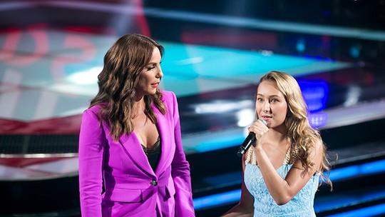 Dona de vozeirão, Luna Maria se emociona após escolha de Ivete no ´The Voice Kids': 'fiquei muito feliz'