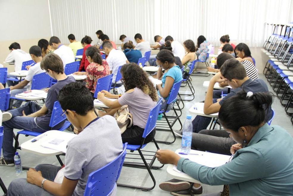 Segundo IFPE, dia de provas transcorreu com tranquilidade â?? Foto: Gil Aciolly/IFPE/Divulgação