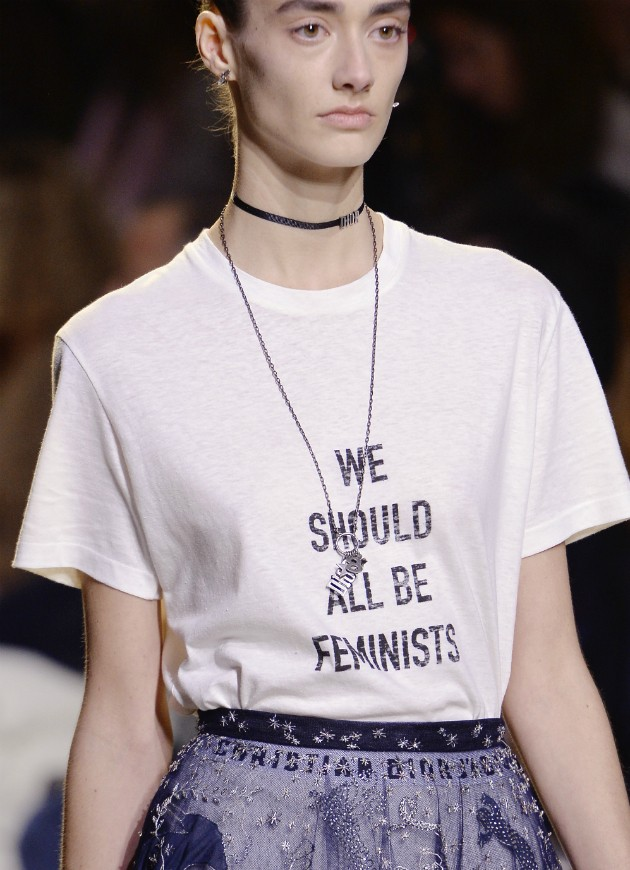 Camiseta feminista da Dior (Foto: Getty)