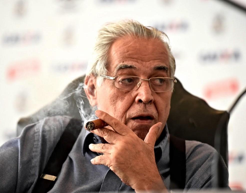 Eurico Miranda, ex-presidente do Vasco, morreu nesta terça-feira (12) — Foto: André Durão/Globo Esporte.com