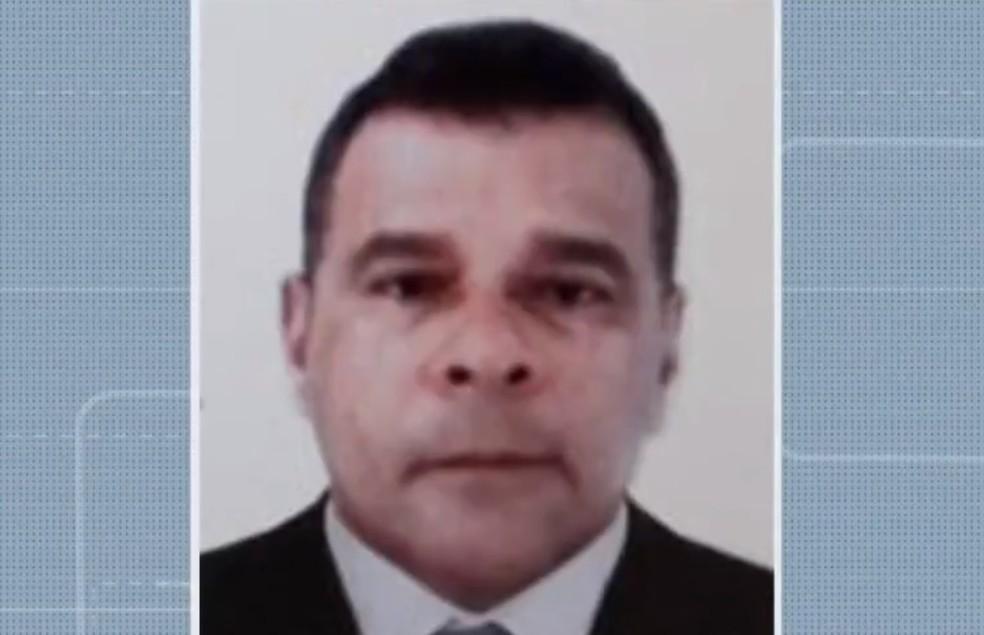 Gesta Dermeval Costa Santos, de 58 anos, foi morto a tiros após assalto na Bahia — Foto: Reprodução/TV Bahia
