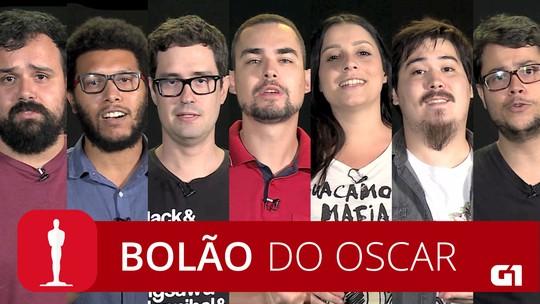 Bolão do Oscar: repórteres do G1 dão palpites sobre a premiação