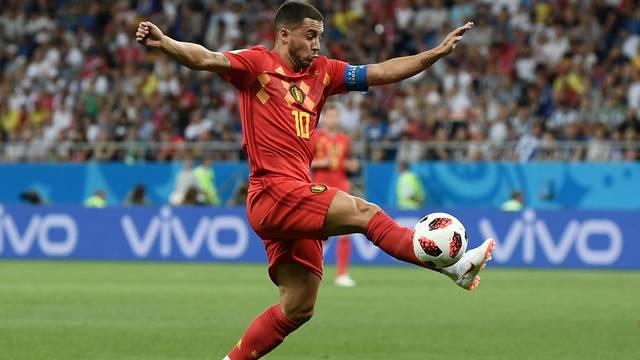 Hazard, da Bélgica, contra o Japão