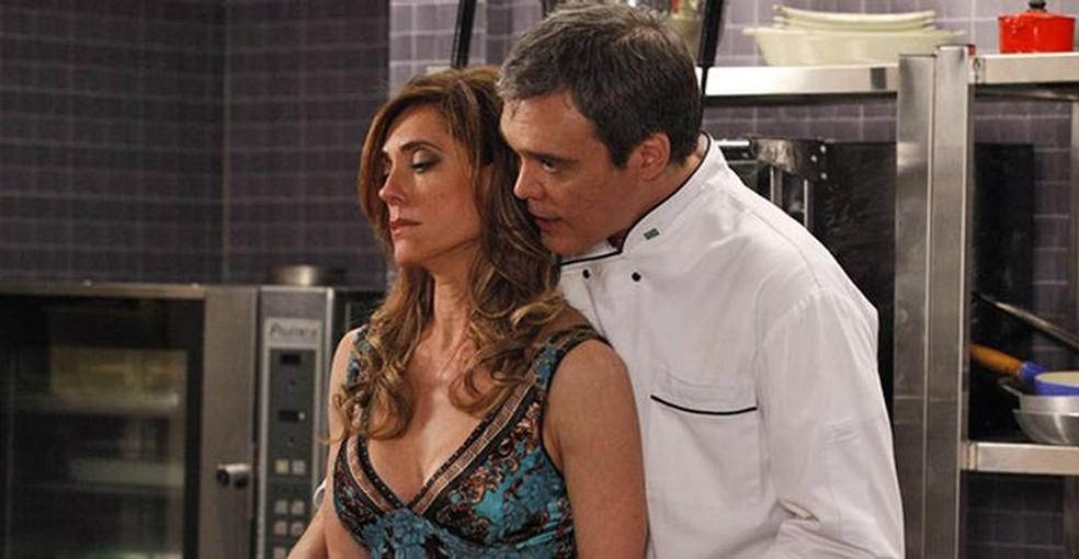 René se vinga de Tereza Cristina em 'Fina Estampa' — Foto: Globo