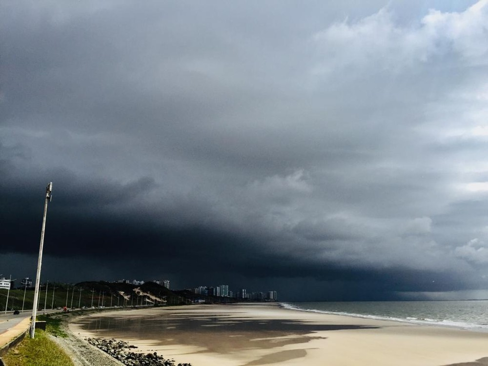 Meteorologia emite alerta de chuva intensa durante o sábado no Maranhão