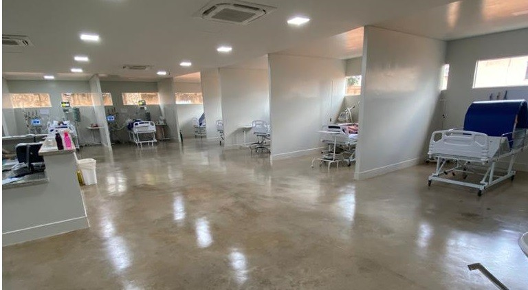 Santa Casa de Misericórdia de Araguari amplia número de leitos de UTI para Covid-19