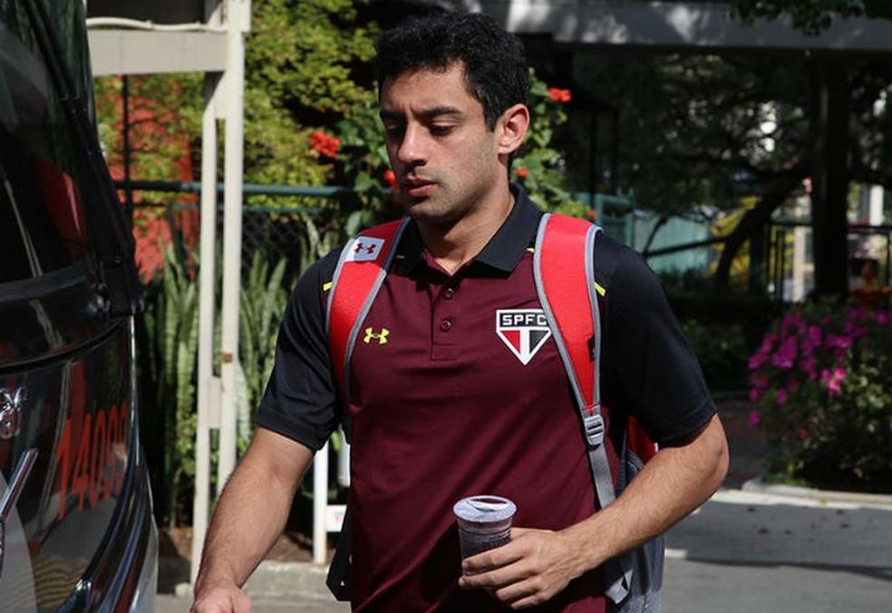Jogador Daniel Corrêa Freitas teve passagens pelo São Paulo e pelo Coritiba — Foto: Rubens Chiri/saopaulofc.net