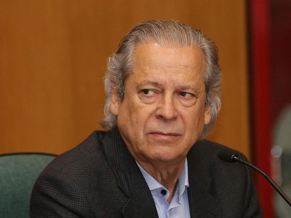 Ex-ministro José Dirceu tem pena de 30 anos e 9 meses mantida no TRF-4 (Foto: Giuliano Gomes/ PRPRESS)