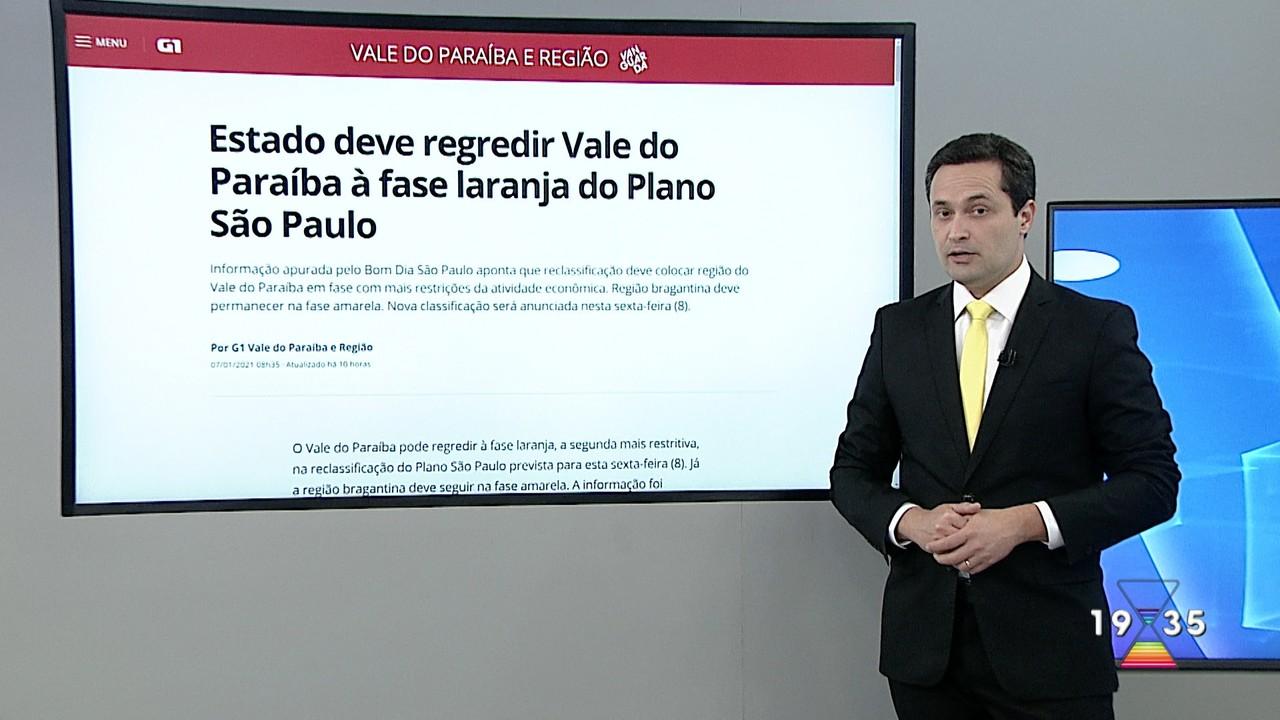 Estado deve regredir à fase laranja do Plano São Paulo