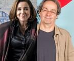 Marisa Orth e Daniel Dantas | TV Globo