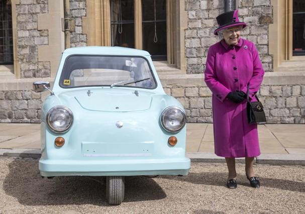 Rainha tem código secreto com a bolsa (Foto: Getty Images)