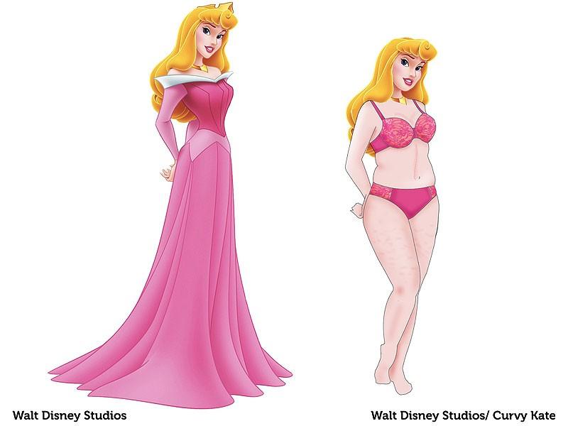 Marca De Lingerie Redesenha Princesas Da Disney Com Corpo Mais