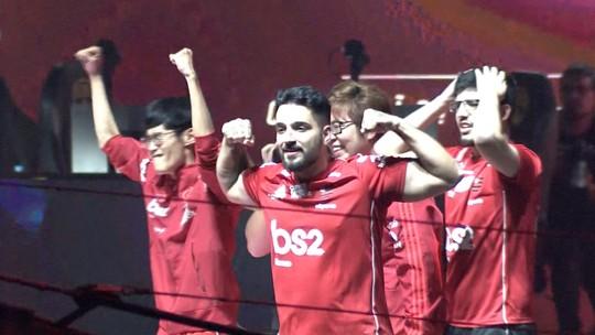 brTT relembra emoção do título inédito do CBLoL com o Flamengo no Esportivamente