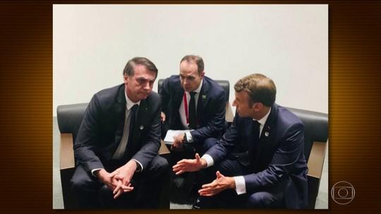 Bolsonaro sinaliza a Macron que Brasil vai continuar no Acordo do Clima de Paris