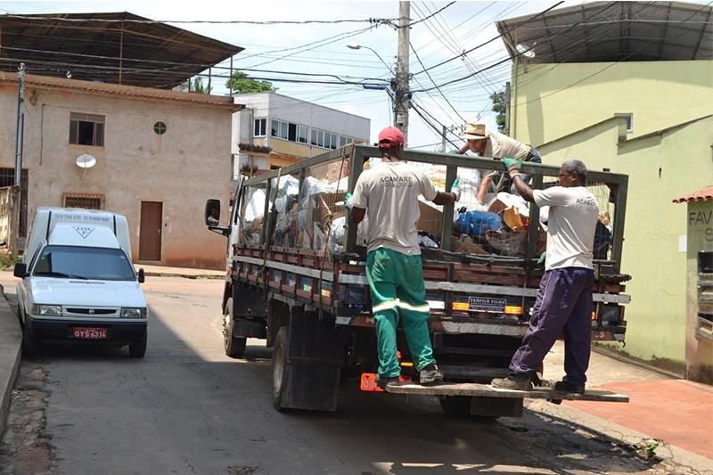 Serviço de coleta seletiva será retomado em Viçosa