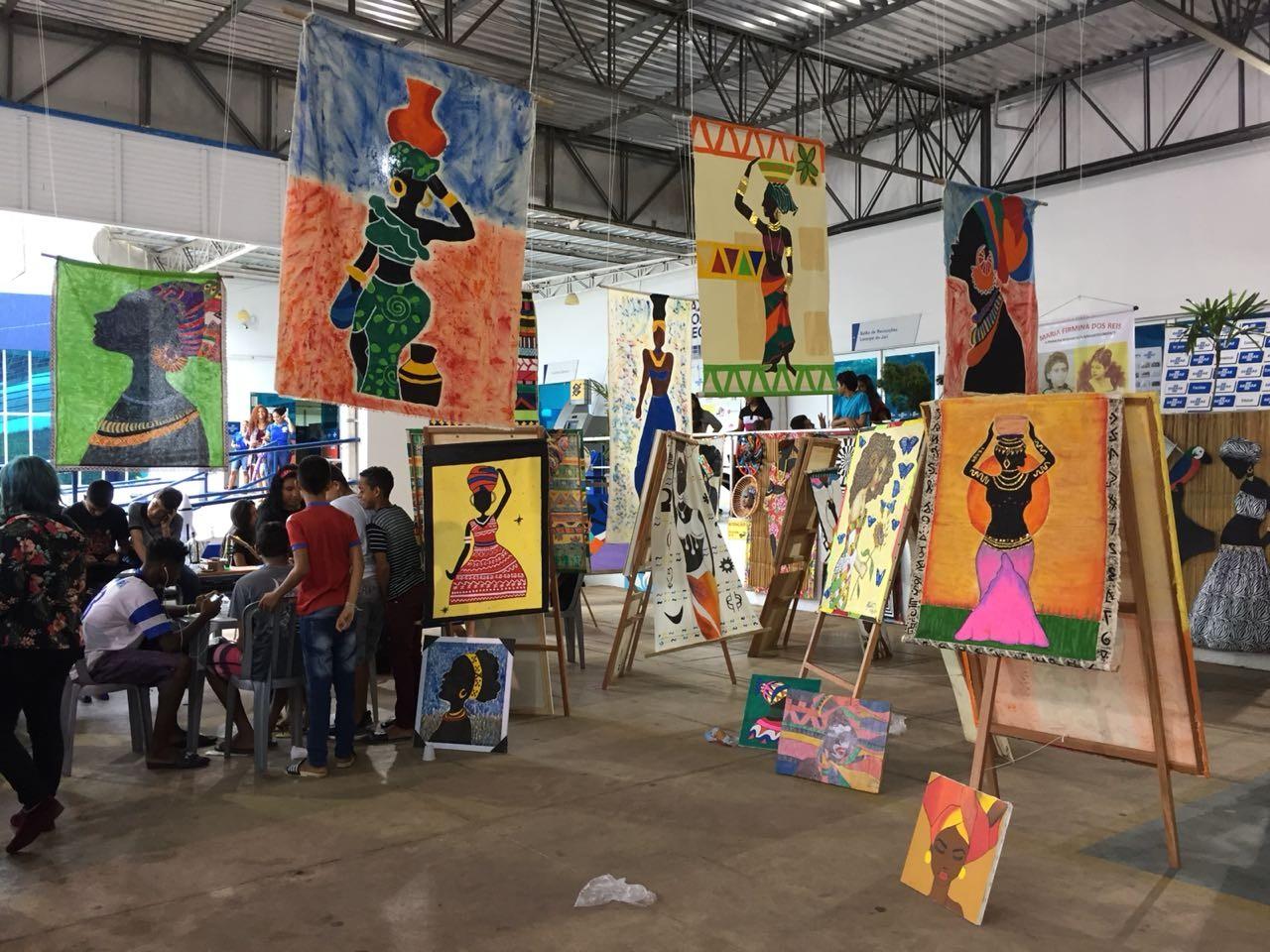 Estudantes da rede pública do AP expõem projetos em feira de empreendedorismo