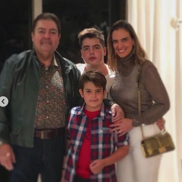 Filho de Faustão posta foto em homenagem ao pai (Foto: Reprodução/Instagram)