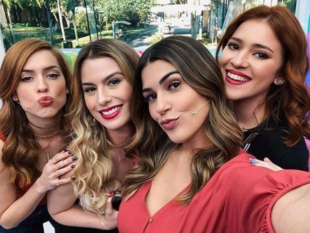 Sophia Abrahão, Fernanda Keulla, Vivian Amorim e Ana Clara (Foto: Reprodução/Instagram)